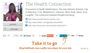 The Health Connection on BlogTalkRadio